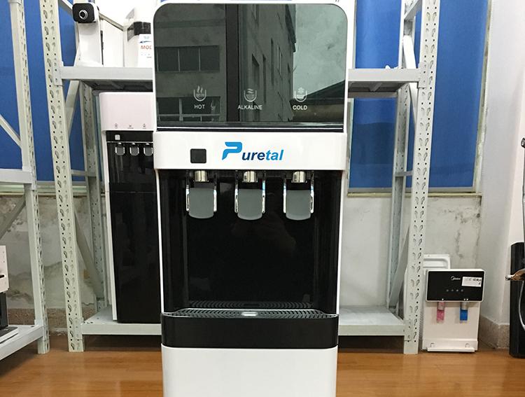 ماجيك 3 الحنفية موزع مياه كوريا الساخن الباردة ماكينة ماء شرب 5 جالون مبرد مياه الوقوف