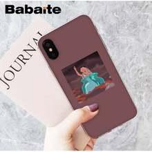 Babaite эстетическое аниме красивая девушка DIY печать рисунок чехол для телефона для iPhone8 7 6 6S Plus X XSMAX 5 5S SE XR 11 11pro 11promax(Китай)