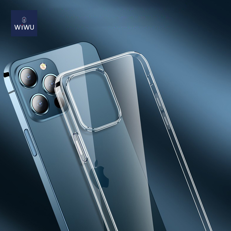 WiWU TPU透明壳支持iPhone 12无线充