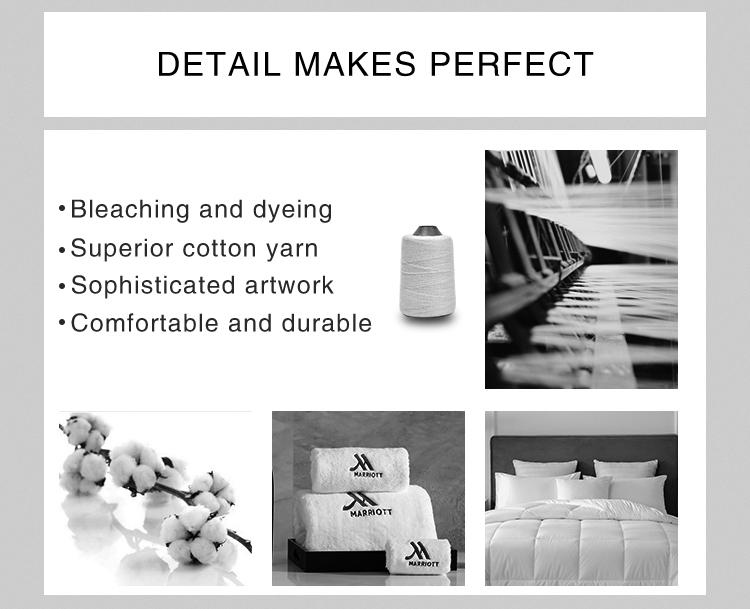 Luxury 5 ดาวมือ/หน้า/ผ้าขนหนูผ้าปูที่นอนผ้าฝ้าย 100% 21 S สระว่ายน้ำไมโครไฟเบอร์เทอร์รี่สีขาวห้องน้ำโลโก้เย็บปักถักร้อย