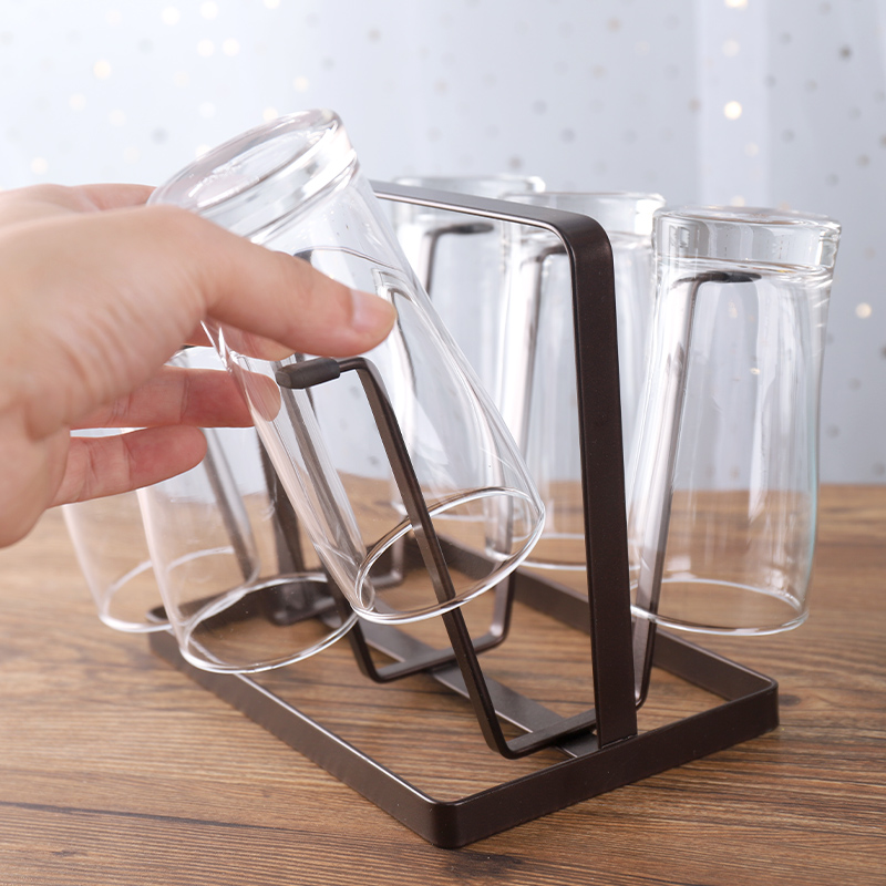 Kitchen Metal Wine Glass Drying <strong>Holder</strong> Cup Rack Storage Organizer Storage <strong>Holders</strong>