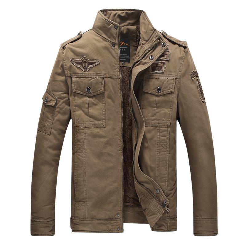 100% cotone di grandi dimensioni utensili giacca per gli uomini.