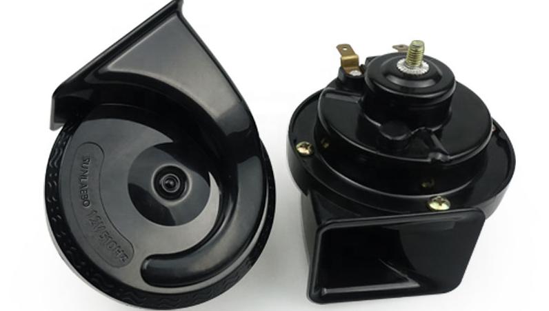 Kualitas Tinggi Super Keras Twin Terompet Tinggi/Rendah Tone 12V Mobil Tanduk Kit