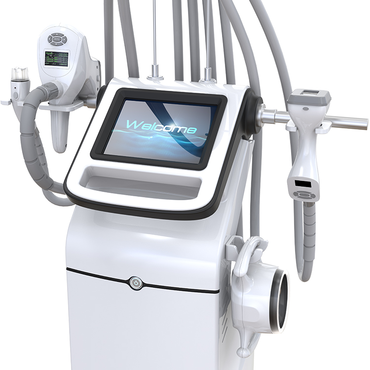 <strong>IR</strong>+RF+VACUUM+CAVITATION 4 in 1 cellulite reduction body shaping beauty equipment/ velashape slimming machine