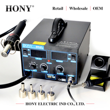 HY-952S professionele vacuüm zuig hot air solder bga rework station