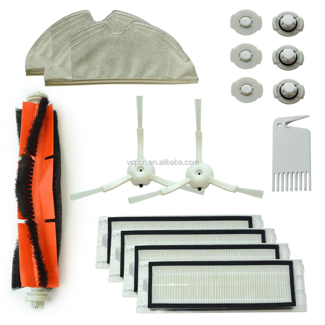 XIAOMI MI Mijia Roborock S5/S50/S51/S55/E35/E25/E20 — accessoires pour aspirateur Robot balayage, brosse, Kit de filtre, pièce de rechange, version internationale