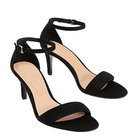 New women's shoes European and American large size simple word with thin high heel women's sandals