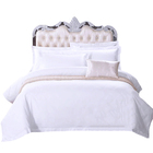 hotel collection queen size 330tc bleached white cotton bed sheet