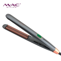 1Inch Iron Ceramic Plate Custom Flat Irons Hair Straightener Vending Machine Infrared Hair Straightener