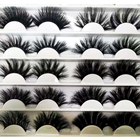 Eyelashes Brand Factory Outlet 25mm 3d Mink Eyelashes Real Mink 25mm Lashes With Customize Own Brand Box