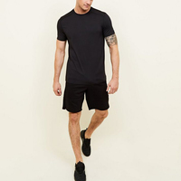 High Quality Wholesale Stock Mens Pima T shirt China manufacturer