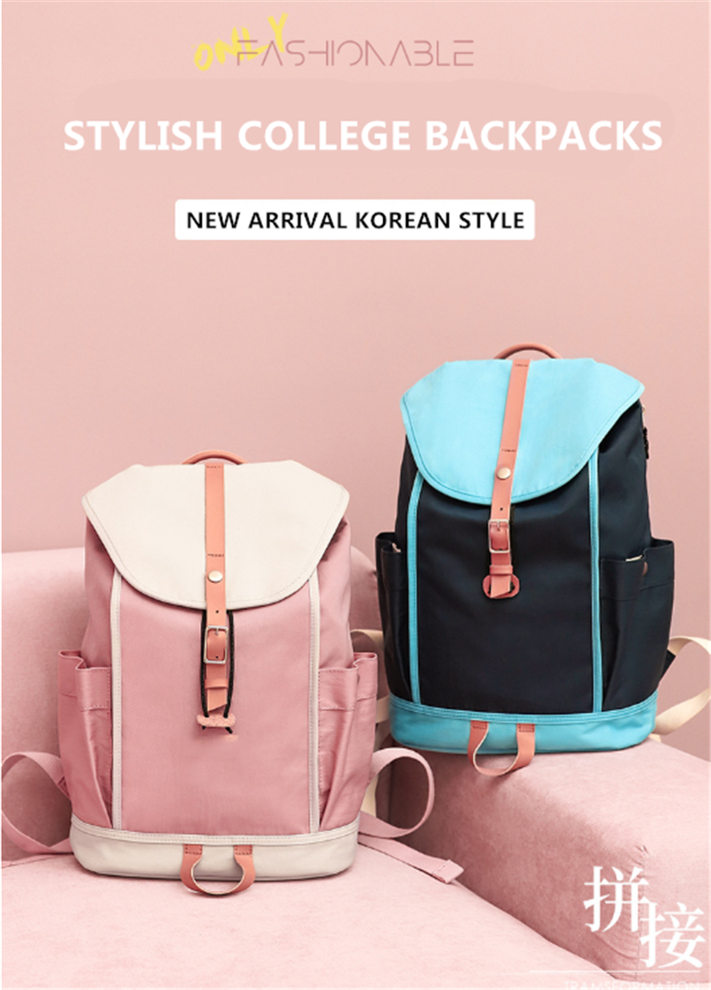 product-2020 Newest Factory Wholesale Korean Style Designer College Bags Stylish Waterproof Drawstri