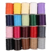 1mm Waxed Cotton Cord String Thread Rope DIY Jewelry Accessories 160M