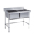 600/700mm Stainless Steel Single Kitchen Sink SS201(Square Leg)