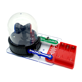 2020 kids Stem studying electronic alarm lamp Stem Engineering Circuits Electronics Kids Building Projects Kits