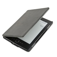 LED Built-in light protective PU leather cover case for Amazon kindle 4 kindle 5 ereader