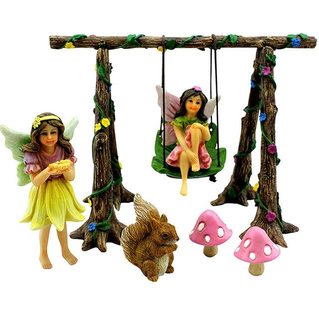 3-Piece Miniature Fairy Garden Ornament Road Signs Q3