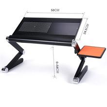 Ноутбук Escrivaninha поднос для кровати Biurko Mesa Dobravel Escritorio офисный Tafel прикроватный столик регулируемый Рабочий стол компьютерный стол(Китай)