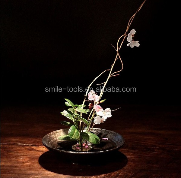 High Quality Stainless Steel Flower Frog Ikebana Kenzan