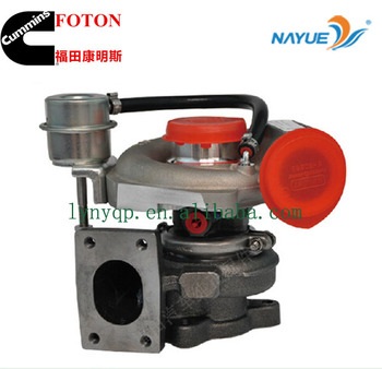FOTON CUMMINS ISF 3.8L diesel engine parts 3772742 turbocharger for OLLIN JAC GAZ