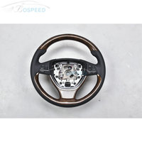Special Customized Wood racing car steering wheel for BMW 5 Series