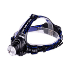 Lighting USB Rechargeable Zoom Function Red Safety Light 1200 Lumen headlamp with led T6 Head Lights 18650 Lithium Head Lamps