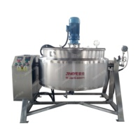 Large Industrial Cooking Kettle with Agitator