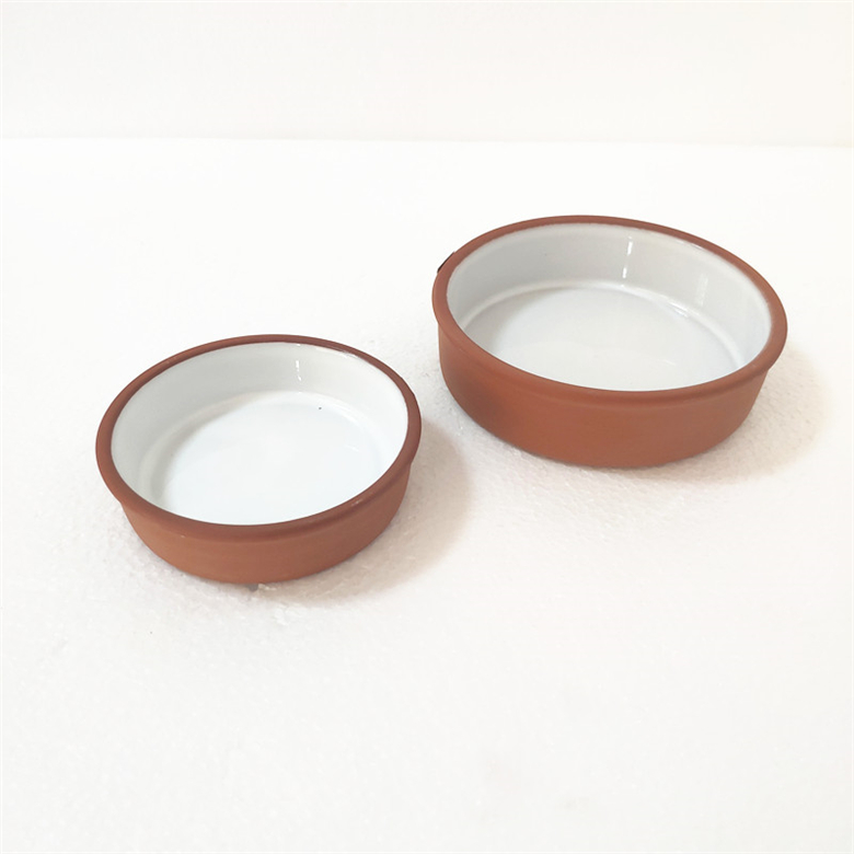 Glazed Ceramic Snack Plates