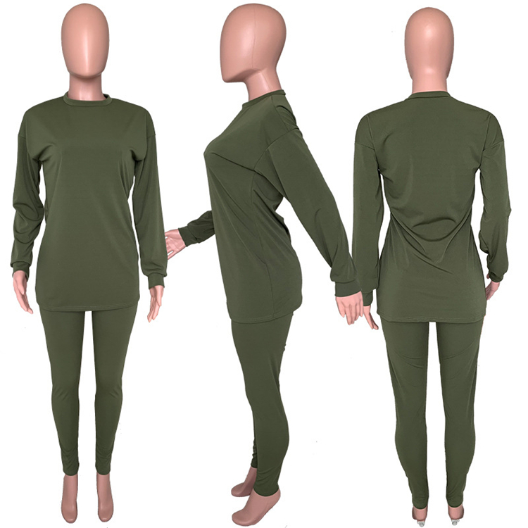 C91302 Wholesale women clothes 2020 two piece pant sets tracksuit set C91302 Wholesale women clothes 2020 two piece pant sets tracksuit set