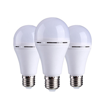 Indoor hotel home smart emergency LED Bulb Light, outdoor camping rechargeable 9 watt led bulb lamp