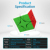 Cubing Classroom MeiLong Polaris Magic Speed Cube - Colorful