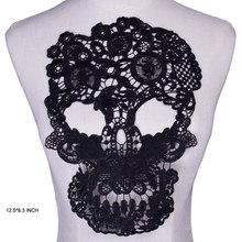 Платье Аппликация кружевная ткань блузка костюм декоративный аксессуар «сделай сам» на декольте Воротник швейная отделка белый черный(Китай)