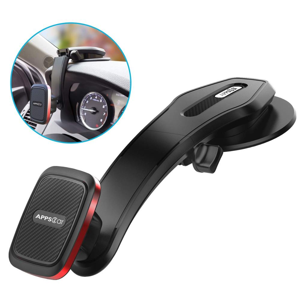 Mobile phone accessories 6 strong magnetic dashboard cup car mount phone holder