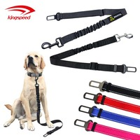 Super strong wholesale pet dog car safety seat belt nylon car seat belt for dog or cat or pet