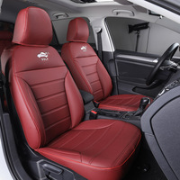Customized leather car seat cover is durable and dust-proof