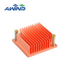 Copper cpu cooling heat sink