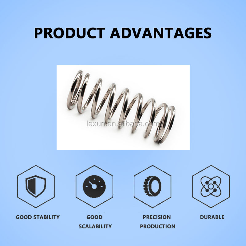 The Manufacturer Customizes Different High-Strength Stainless Steel Springs And Double Torsion Springs According To The Size