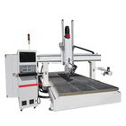 CE approved 4 axis cnc router machine woodworking center