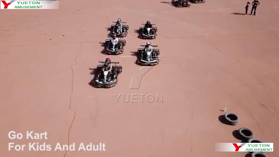 Hohe Qualität Professionelle Günstige 125/150/200/250/270/300/500cc Erwachsene Off Road elektrische Vermietung Racing Go Kart