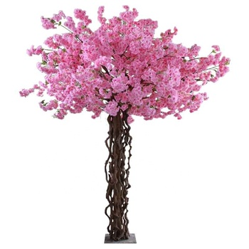 Newest artificial sakura flower tree japanese cherry blossom tree for wedding decoration