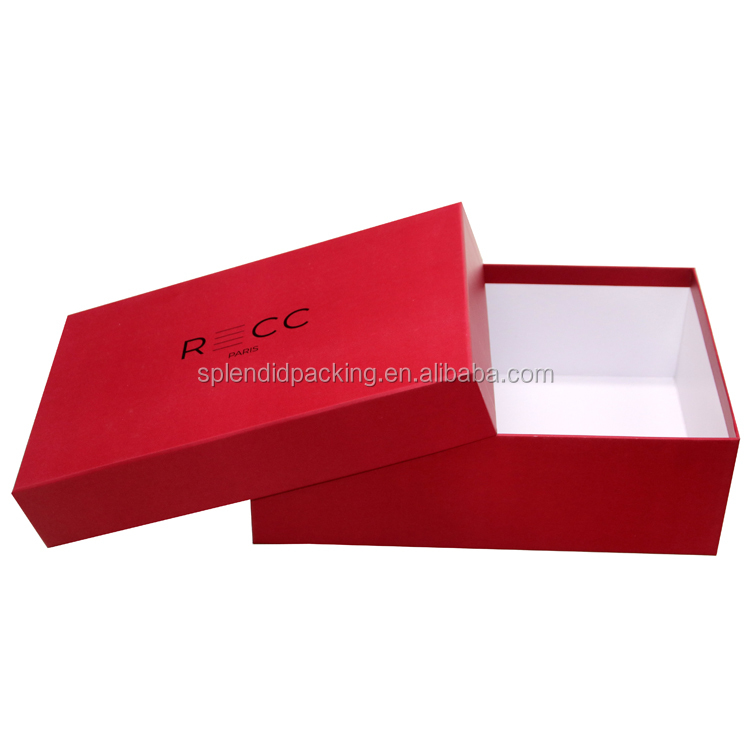 Eco Friendly China Supplier Recycled Custom Logo Storage With Magnet Shoe Box