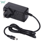 Wall power adapter 12v 3a AC DC power supply with UL62368 CE GS BS TUV SAA FCC ROHS certified
