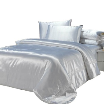 Best quality 100 percent silk bed sheet sets bedding sets
