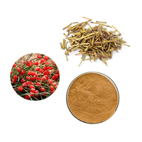 Ma Huang Efedra Extract 10:1 Ephedra Sinica Alkaloid Extract Powder In Plastic Bag
