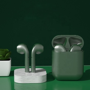 2020 inpods 12 New Color Match for iPhone HIFI Voice Touch Control Matte Surface Wireless Earbuds