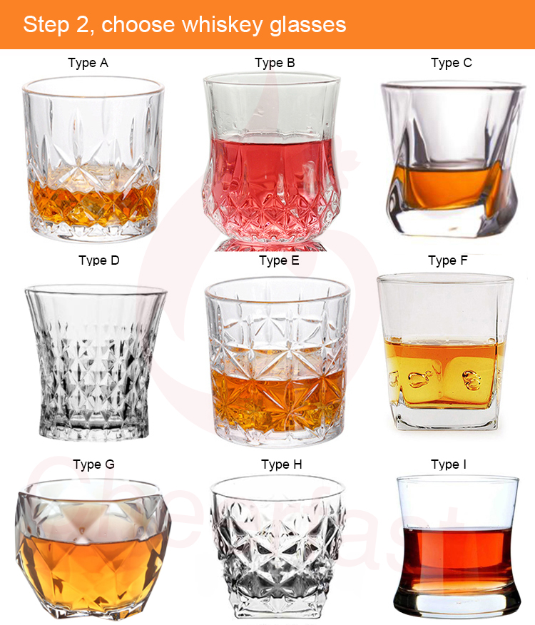 New Arrivals 2020 Ice Cubes Reusable And Stainless Steel Ice Cube With Diamond Glasses Set