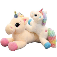 60cm Wholesale Unicorn plush toys, horses, luxury pillows, children's gifts