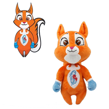 CE ASTM OEM factory cotton customized promo plush toy doll personalised mascot gift stuffed animals