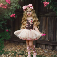 Baby frock design tutu flower girl dresses