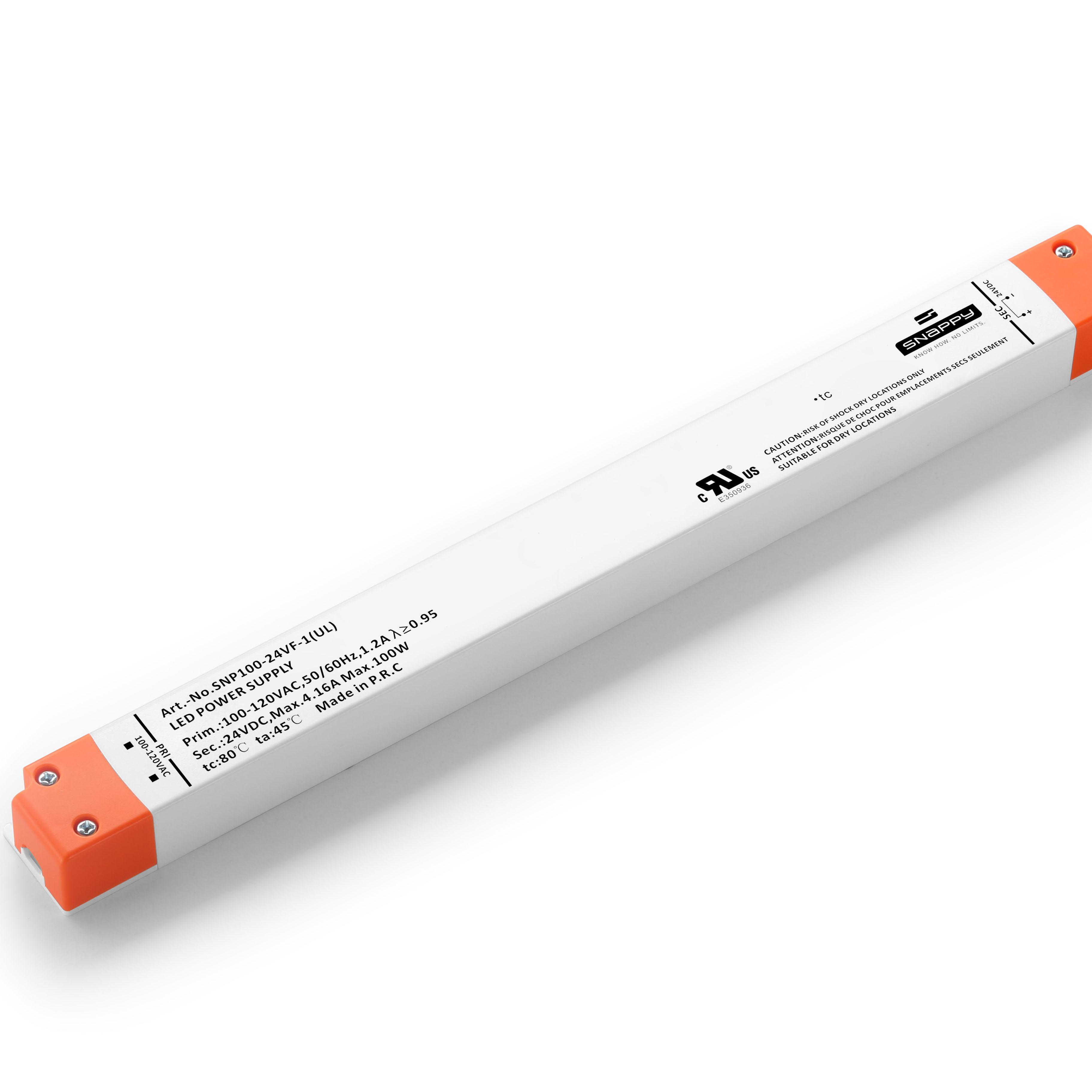 SNP100-24VF-1(USA) 100 W  CUL listed linear led driver